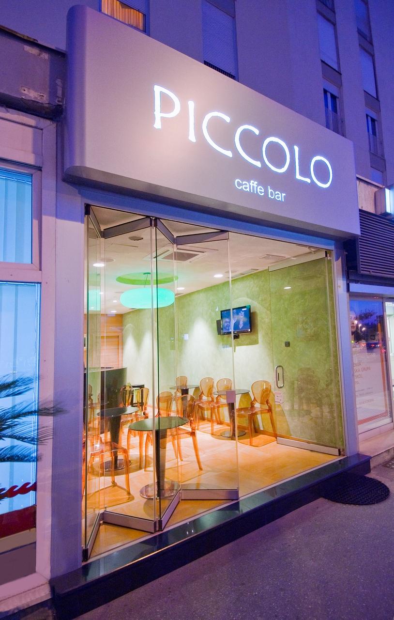 DDesign projekt - Izvedbeni projekt Caffe bara Piccolo