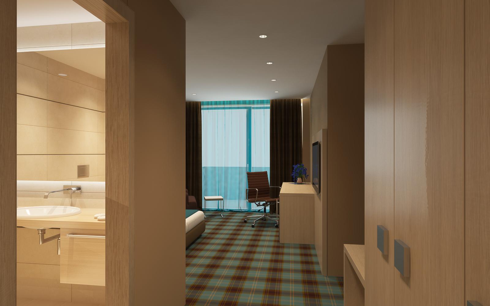 DDesign projekt - Hotel Fanat